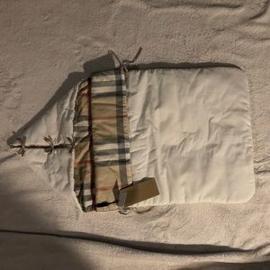 Burberry baby sleeping bag, bunting, gift
